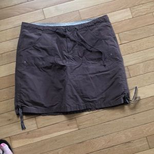 Columbia Brown skort